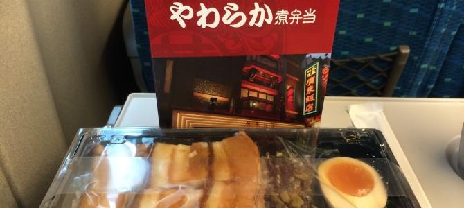 駅弁屋(品川)/やわらかい豚バラ肉と高菜の相性バツグン!