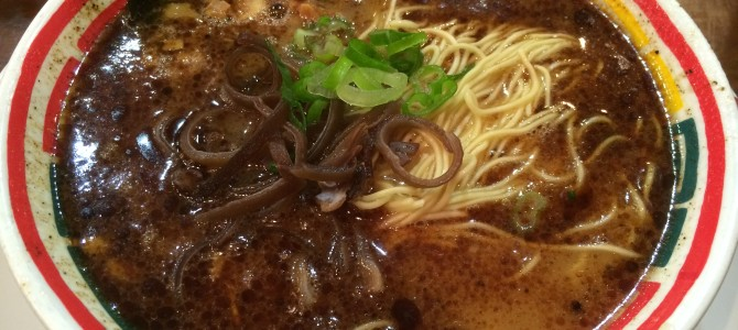 九州じゃんがら(原宿1階店)/焦がしニンニクの香り