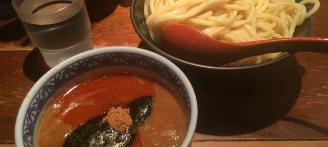 三田製麺所(六本木)/辛いスープでもっちり麺をツルっ!